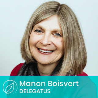 Manon Boisvert, Chef, Culture et Talents Delegatus